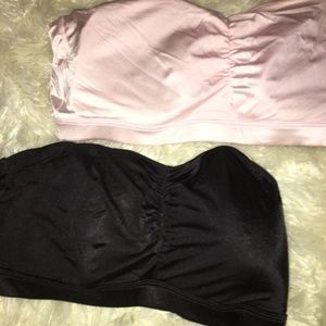 Intimates & Sleepwear - 2 Reversible Bandeau Bras - XL (40)